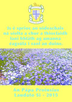 Teachtaireacht do Scoláirí na Chéad Bhliana 2020-21